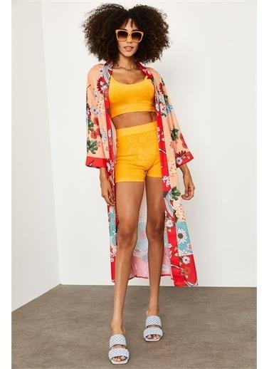 XHAN Kimono Oranj